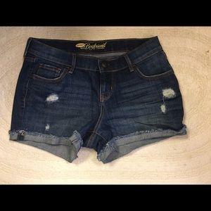 Old Navy denim boyfriend shorts Sz 2